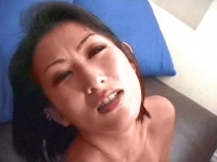 Lust-filled oriental whores gets busy in a lesbian dildoe satisfaction on the couch.