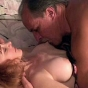 Slutty Redhead With Great Tits Sucking And Fucking In The Bedroom.