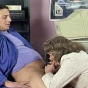 Horny Mature Secretary Sucking A Hot Stud's Cock In The Office