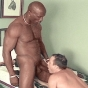 Black Guy Gay Getting His Pleasure Pole Mouth Fucked By Buff Ivory