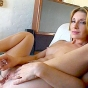 New SMUT! hot blonde masturbate and show off her feet porn video!