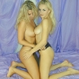 New SMUT! blonde lesbians flaunting their ultra hot bodies porn video!