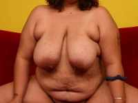 Horny BBW gets her wet pussy drilled
