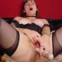 Horny Babe Stuffing Her Cunt With Dildo