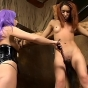 New SMUT! sadomasochistic chicks get their pussies whipped porn video!