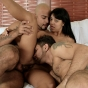 New SMUT! sexy latina kelly gets pussy filling from two bisexual guys in this raunchy mmf threesome porn video!