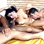 New SMUT! enticingly horny and tattooed musclemen bisexuals in a cock-sucking orgy session. porn video!