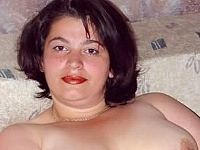 Plumper Shy Fat Chick Undressing and Giggling on the Bed