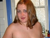 Big Fat Girlie Undressing and Take a Bath Nude