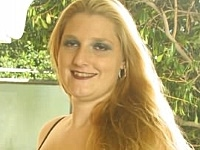 Blonde BBW Girl in See-Through Lingerie Posing
