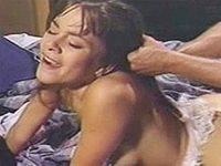 Hardcore and Wild Doggy Style Fuck on the Bed
