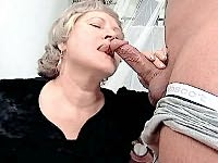 Busty mature slut spreading her plump pussy lips for a hard fuck