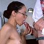 Mature Brunette Taking On Huge Dick