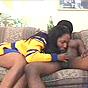 Luscious Tits Black Hottie Cock Sucking Black Pole