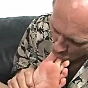 New SMUT! breasty blond bitch gets luscious foot arousal porn video!