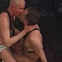Lustful Gay Hunks In Bdsm Suits In Sensous Kissing And Sucking Play