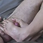 New SMUT! sexy asian babe masturbating juicy dick with her nice feet porn video!